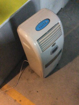Maquina de aire frío y caliente