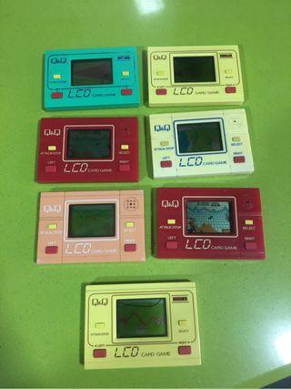 Q & Q tipo game watch, maquinitas,nintendo,sega,varios modelos