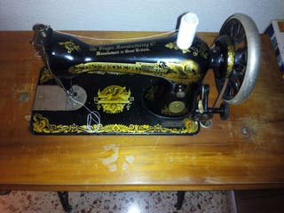 Maquina coser Singer año 1911