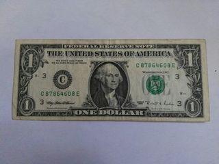 billete de EEUU