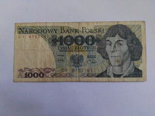 billete de polonia