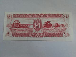 billete de guyana