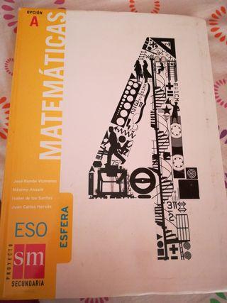 Matemáticas 4°Eso, Opción A