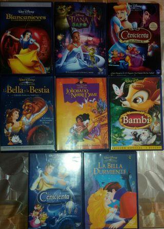 Películas originales Walt Disney