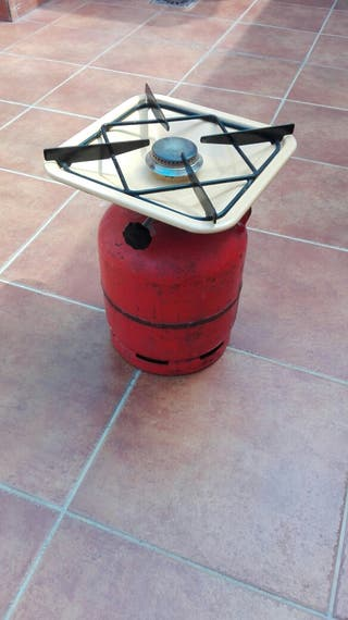 Botella ,campic gas hornillo para cocinar