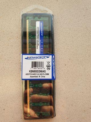 Módulo memoria RAM DDR2 KEMBONA 4 GB