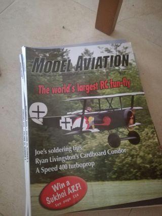 Revistas de aviones