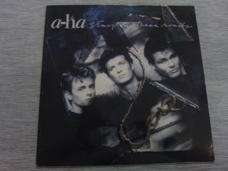 DISCO VINILO A-HA STAY ON THESE ROADS