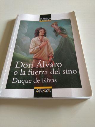 Don Álvaro o la fuerza del sino de ANAYA