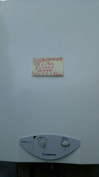 Junkers ráfaga11l. 100€ hydropower 18 l.160€