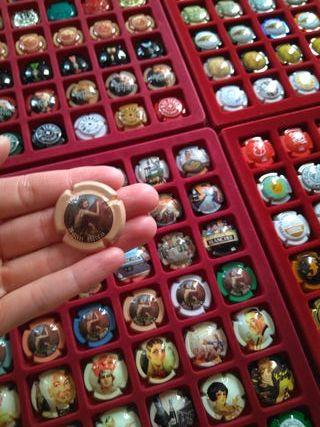 Colección chapas de Cava