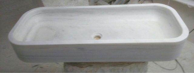 Lavabo mármol blanco