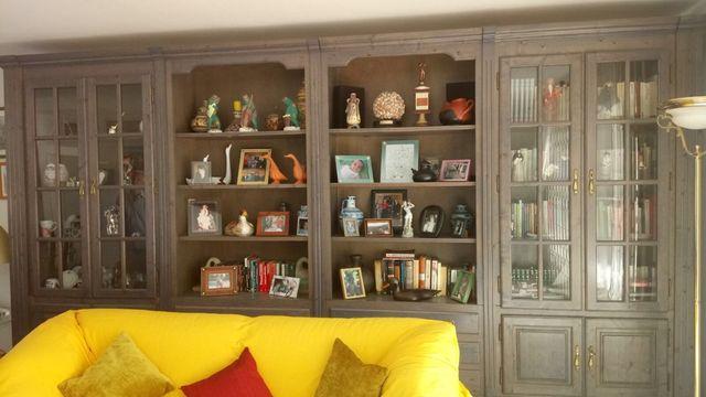 Antigua Libreria Madera de Pino