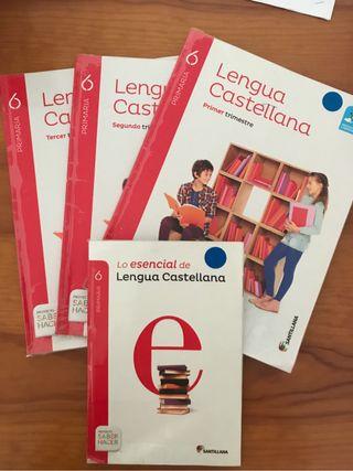 Libro Lengua Castellana 6 prim