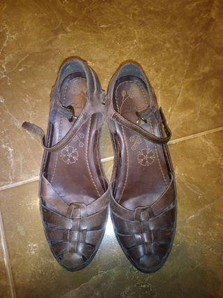Zapatos mujer clarks chanclas