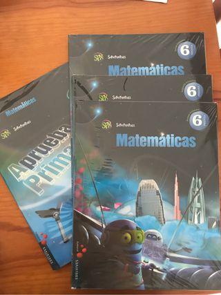 Libro matematicas 6 primaria