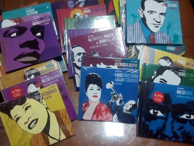 colección de CDs de Jazz de el País
