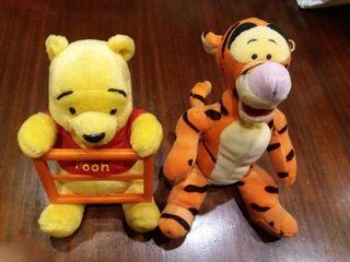 lote winnie the pooh y tigger