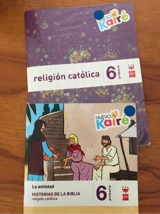 Libro religion 6 primaria