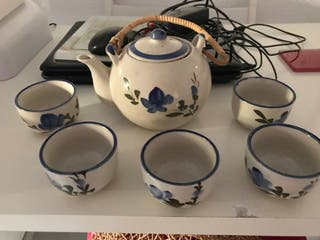 Tetera ceramica antigua