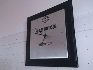 reloj pared Harley Davidson