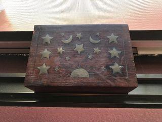 Caja joyero madera