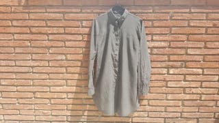 Camisa seda - algodon talla 38