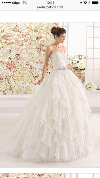 vestido de novia de segunda mano en lleida en wallapop