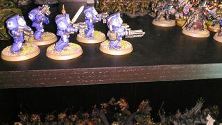 Exterminadores Ultramarines warhammer 40k