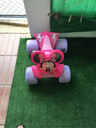 Moto quad electrica minnie