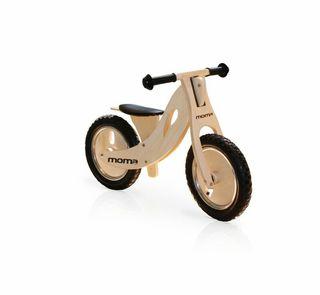 "Bicicleta de madera niño 12"" correpasillos"