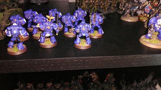 Escuadra de Ultramarines warhammer 40k