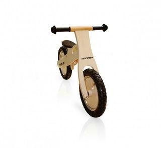 Bicicleta de madera niño correpasillos