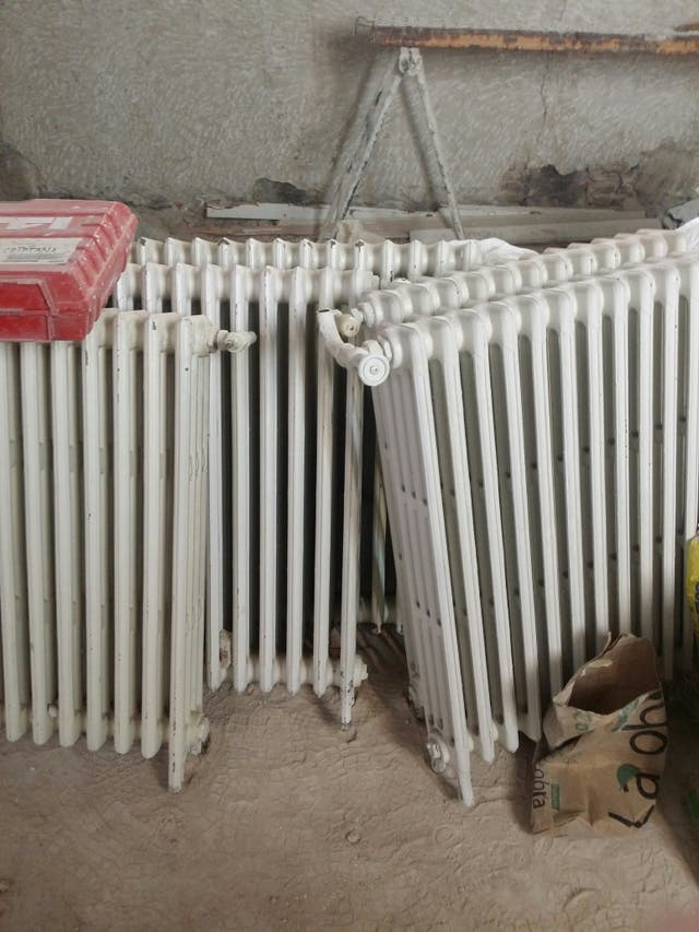 radiadores hiero fundido calle Zorilla Madrid