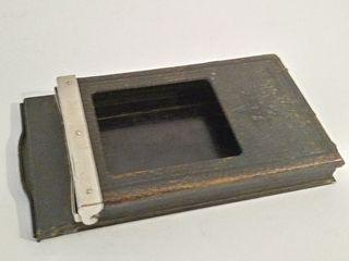 Antiguo chasis para placas 6x9 fotografia