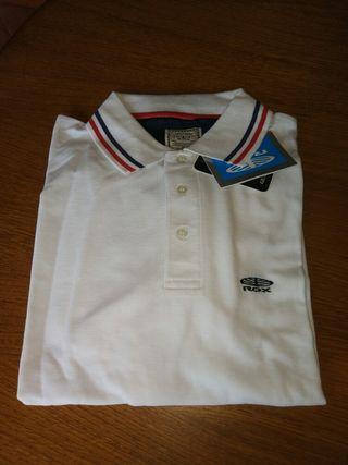 Camiseta polo blanco Rox