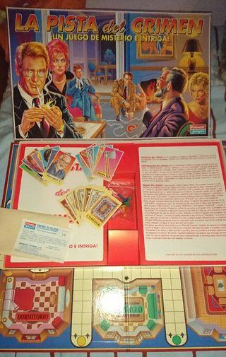 La pista del crimen juego de mesa