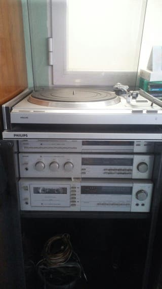 Equipo música Philips. Minicadena