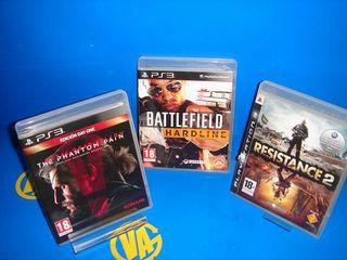 Videojuegos play 3 METAL GEAR. RESISTANCE 2. HARD