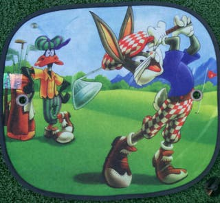 2X CORTINILLAS LOONEY TUNES LATERALES