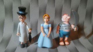 Figuras Disney Peter Pan Wendy