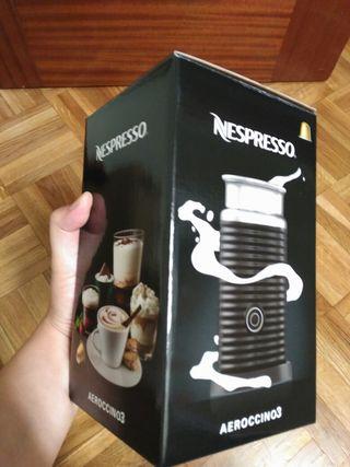 Nespresso aeroccino 3 , nuevo, a estrenar