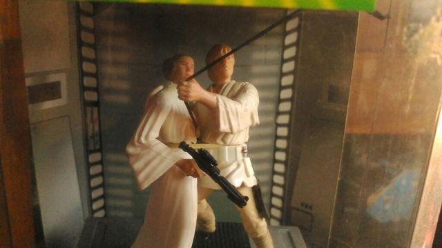 star wars luke leia figuras hasbro