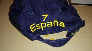 regalo gorra de España adidas número 7