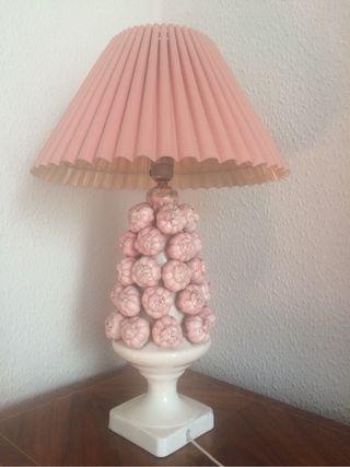 Lámpara vintage de ajos