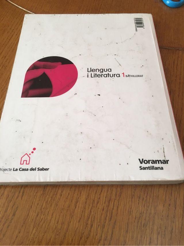 Libro Llengua 1 batxillerat