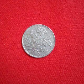 Moneda de 25c de Lira Maltesa