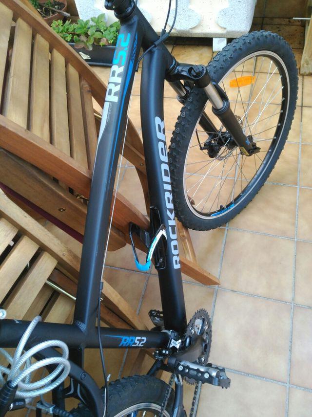 bicicleta mtb casi nueva
