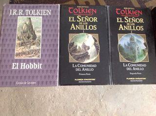 Saga libros seńor de los anillos