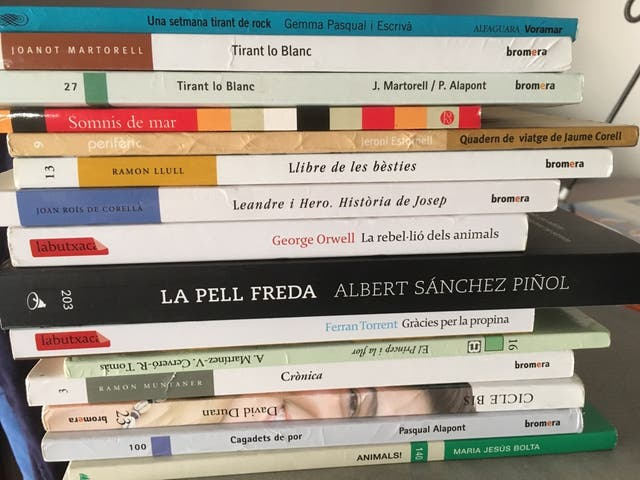 Libros de lectura instituto